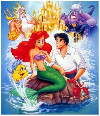 Les personnages de mon enfance - Image petite sirene ...