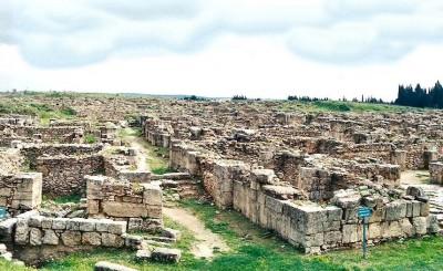 Site archéologique d'Ougarit (Ras Shamra- Syrie)