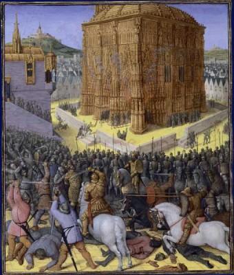 Prise de Jérusalem pae Nabuchodonosor II