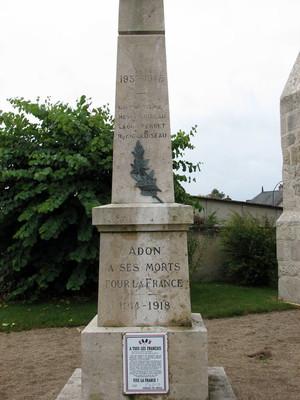 Adon- Le Monument aux morts