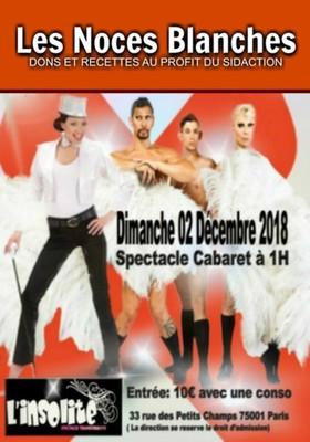 Les Noces Blanches - Club L'Insolite Paris - Sidaction 2018 - Brindille