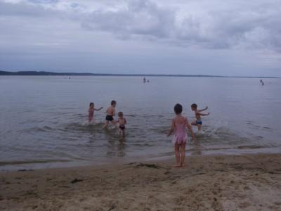 la plage dimanche avec les cousins