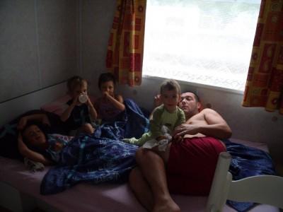 Le premier reveil au camping