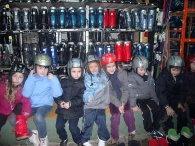 essayage des skis