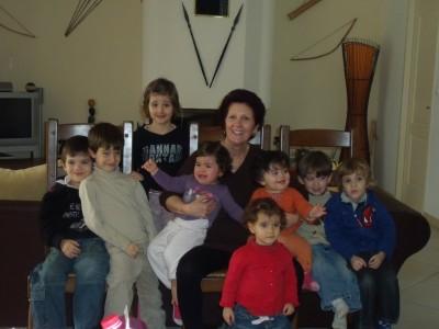 mamina et tous ses petits.