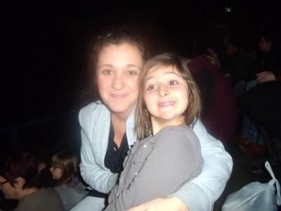 au concert avec maman