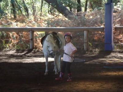 avec mon poney