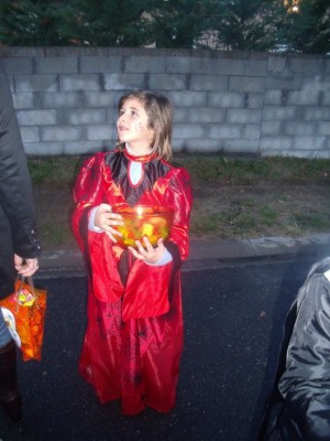 la sorcière d'halloween