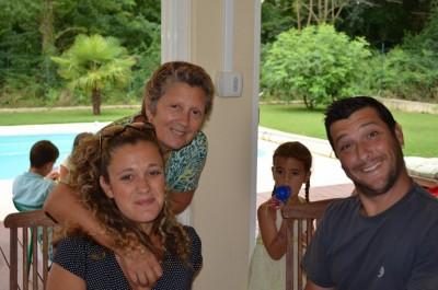 Papa, Maman, Mamina et Oria