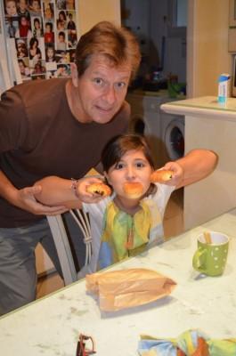 Avec mon Papita