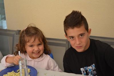 Patxi et la cousine Marie Lou