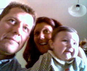 Aïnhoa en 2002   Mamina et Papita