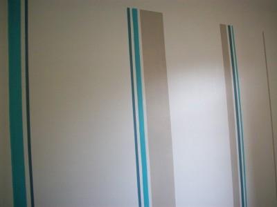 Aquamas creations for Peinture gris turquoise