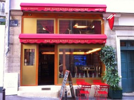 Notre boutique et sa terrasse