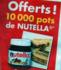 BUT OFFRE 10 000 POTS DE NUTELLA 400 GR