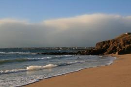 La plage de Fort-Bloqué