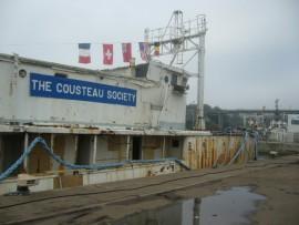 La calypso du Commandant Cousteau