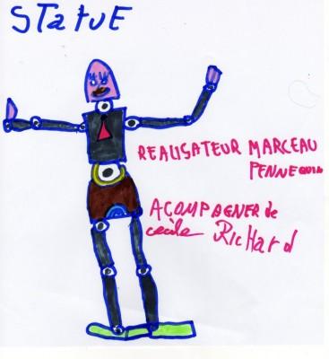 statue de Marceau