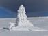 Neige au Mont Lozère