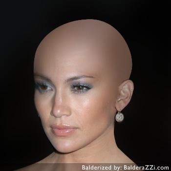 Прическа для лысой головы женская