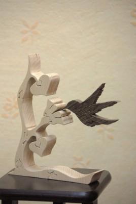 colibri sur une fleur