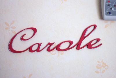 prénom carole