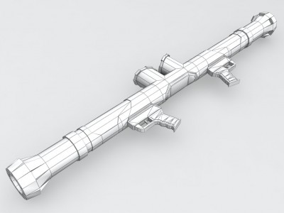 Bazooka a double canon pour un ennemi lourd du Mod