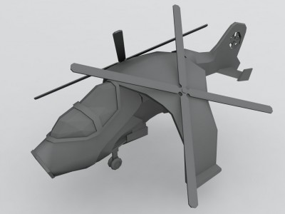 Helicopter Strinker, pour l'intro du Mod