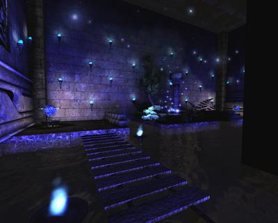 Le temple de l'eau