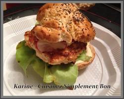 Burger Poulet Estragon