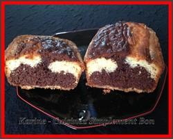 Cake Marbré façon Gâteau au Yaourt