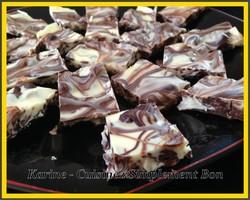 le Marbré aux 2 Chocolats et Raisins Secs