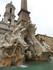 La Fontana dei Quattro Fiumi (fontaine d