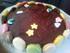 Le gâteau au chocolat (avec des macarons
