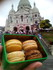 Montmartre et macarons