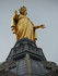 La statue de la Vierge en or de la Basil