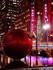 Boules de Noël géantes à Ne