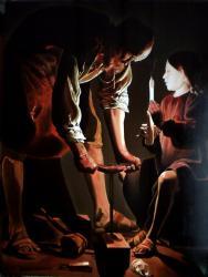Georges de la Tour(Saint Joseph charpentier) 130cmx97cm