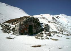 Buron sous le Puy de la céde