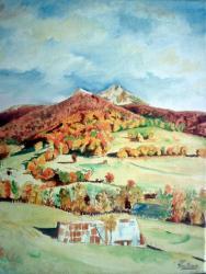 Le puy Griou (automne)