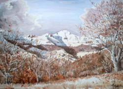 Puy Mary(neige en automne)