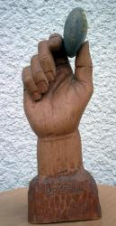 Sculpture sur hêtre