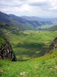 Eylac et la vallée du claux vue de la brèche de Rolland