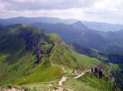 Les fours du Peyre Arse,la Brèche et le Puy Griou
