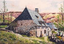 Maison auvergnate à Niérvèze