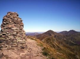 L'homme de pierre(sommet du Chavaroche)