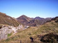 Le Puy Mary vu du Redondet