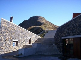 Pas de Peyrol(escalier pour monter au sommet du Puy Mary)