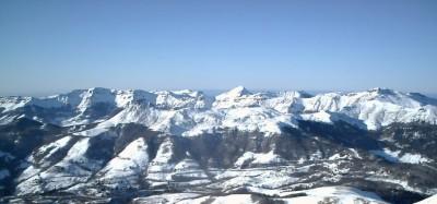 Le Puy Mary vu du plomb du Cantal