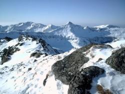 le Puy Mary vu du Peyre Aese